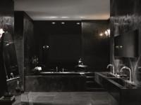 Черный цвет ванной — 75 фото грамотного дизайна и сочетания