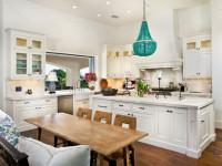 Люстры для кухни — 60 фото идей в интерьере