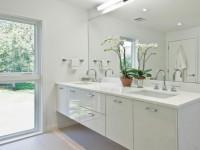Дизайн белой ванной комнаты — 75 фото идеального сочетания белого цвета