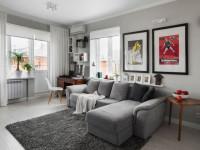 Интерьер маленькой квартиры — общие правила дизайна и особенности использования украшений (86 фото)
