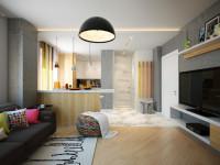 Интерьер 2х комнатной квартиры — интересные варианты планировок и стильные сочетания дизайнерских идей + 75 фото