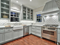 Плитка для кухни — 120 фото идей плитки на пол и для фартука в кухне