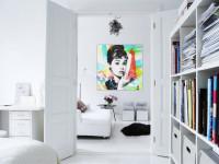 Белые стены в интерьере — фото обзор лучших примеров и новинок