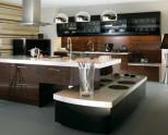 Коричневая кухня — оформления интерьера кухни в темных тонах (75 фото)