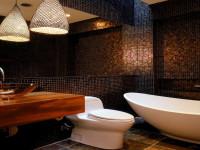 Мозаика в ванной комнате: идеи оформления и дизайн (100 фото)