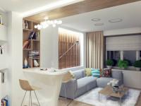 Ниша в стене — идеальное решение для маленькой квартиры (90 фото)