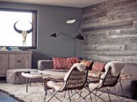 Отделка стен деревом — 70 фото идей декоративной отделки