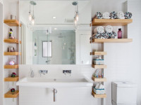 Полка для ванной — 60 фото идей необычного дизайна