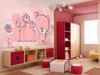 Стены розового цвета — 59 фото интересных вариантов дизайна