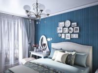 Синие стены в интерьере — 80 фото роскошного дизайна