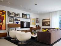 Телевизор на стене — правила оформления, 70 фото идей дизайна