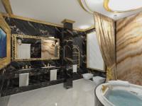 Ванная в классическом стиле: ТОП-100 фото элегантного дизайна