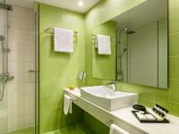Ванная в зеленом цвете — 85 фото идей красивого оформления