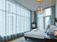 Занавески в спальню — как должна выглядеть современная занавесь в интерьере? (125 фото)