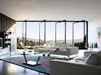 Гостиная в стиле минимализм — варианты современного и стильного оформления в гостиной (95 фото)