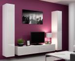 Красота и функциональность: современные стенки-горки в гостиную