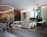 Дизайн квартиры-студии: лучшие идеи планировок (100 фото)