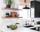 Полочки для кухни: виды и советы по выбору (100 фото)