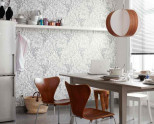 Обои на кухню: идеи для интерьера и советы по выбору