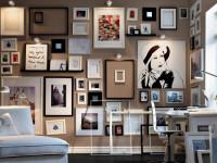 Фоторамки на стену — правила идеального оформления в интерьере (90 фото)