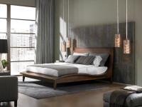 Дизайн стен в спальне — обзор популярных вариантов на 70 фото