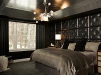 Стены черного цвета в интерьере: 100 фото элегантного дизайна