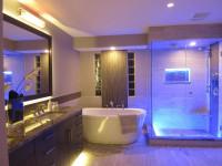 Ванная в стиле хай-тек: особенности стильного дизайна на 80 фото