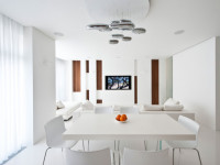 Белый стол: 100 фото примеров лучшего сочетания в интерьере