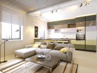 Дизайн квартиры 70 кв. м. ТОП-100 фото идеального оформления в интерьере