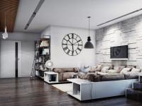 Дизайн квартиры в стиле лофт — великолепное сочетание стиля (75 фото)