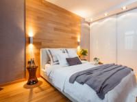 Ламинат на стене — 55 фото идей нового креативного дизайна в доме!