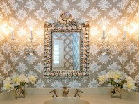 Обои для ванной комнаты — 90 фото идеальных вариантов оформления