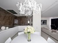 Белый дизайн квартиры в современном стиле (100 фото идей)