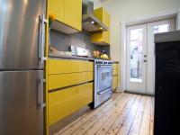 Желтая кухня — 70 фото нежного желтого цвета в дизайне интерьера кухни