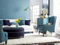 Стены бирюзового цвета: особенности сочетания дизайна в бирюзовых тонах (70 фото)