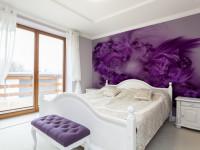 Фиолетовые стены — фото обзор лучших идей как сочетать с другими цветами