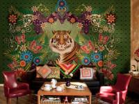 Фреска на стену — стильное оформления на 70 фото