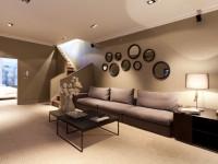 Коричневый цвет стен: сочетание в интерьере и 70 фото современного дизайна