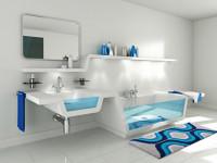Коврик для ванной — какой выбрать? 70 фото идеального сочетания в интерьере ванной комнаты