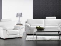 Кожаный диван в интерьере — стильное современное решение (80 фото новинок)