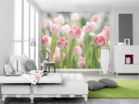 Цветы на стене — 68 фото украшения поверхностей цветочным узором