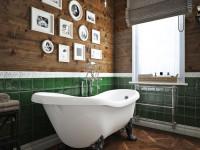 Ванная с окном — 50 фото лучших идей сочетания
