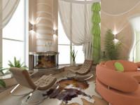 Зала с двумя окнами — 60 фото интересных вариантов красивого оформления!