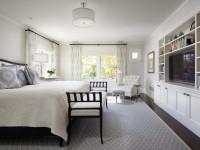 Как разместить телевизор в спальне? Пошаговая инструкция с фото и видео + рекомендации по выбору высоты