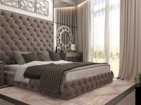 Коричневая спальня — 115 фото лучших оттенков коричневого цвета в интерьере