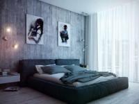 Спальня в стиле лофт — разнообразие стиля лофт и современные вариации обустройства (134 фото)