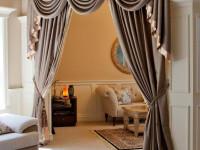 Ламбрекены в гостиную — лучшее решение для изящного оформления интерьера! (120 фото)