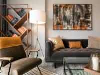 Ниша в гостиной — необычные варианты функционального и практичного оформления дизайна с помощью ниши (105 фото)
