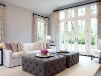 Обои для гостиной — основные тонкости выбора и комбинирования обоев в интерьере +120 фото