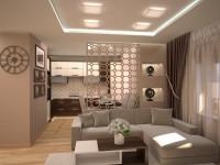 Перегородка в гостиной — варианты идеального оформления (120 фото дизайна)